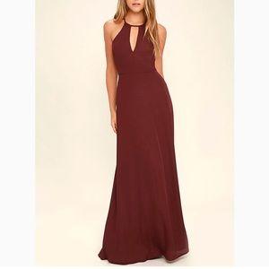 Lulus - Beauty and Grace, size small - maxi dress